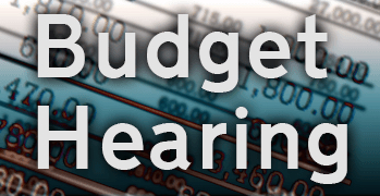 budget hearing