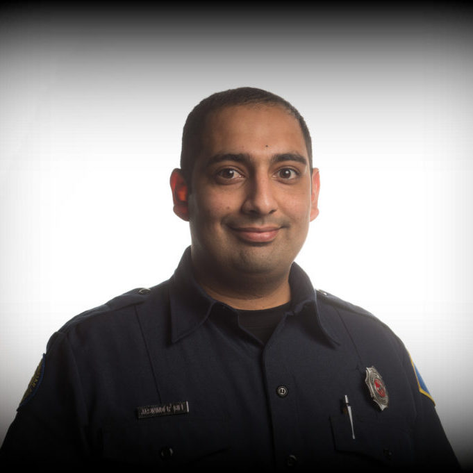 Firefighter Jaswinder